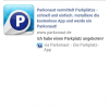 Facebook-Integration der Parkonaut-App
